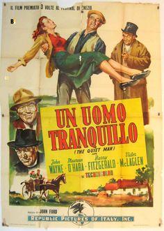 UN UOMO TRANQUILLO, John Wayne
