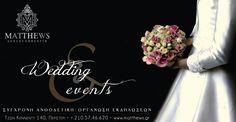 Wedding events by matthews