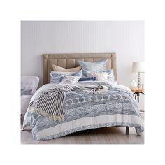 Peri Matlasse Medallion Comforter Set, Blue