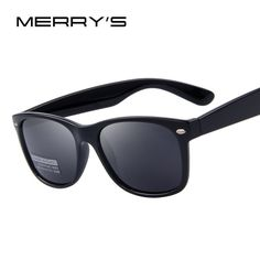 2a355e6ea5 MERRY S Men Classic Polarized Sunglasses Wayfarer Sunglasses