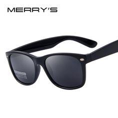 Mens MERRY'S Polarized Classic Sunglasses UV400