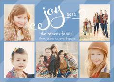 Looped In Joy Holiday Card