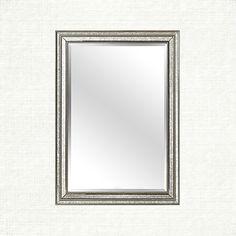 """Felicity 28"""" x 40"""" Beaded Portrait Mirror"""