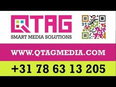Video about Qtag's QR code software
