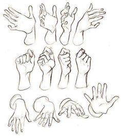 26 Ideas How To Draw Human Hands Pose Reference Hand Drawing Reference, Art Reference Poses, Anatomy Drawing, Anatomy Art, Drawing Skills, Drawing Poses, Drawing Hands, Boy Drawing, Art Drawings Sketches