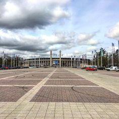 #olympiastadion #berlin #germany #hertha #cloudy #nemecko #stadion #football