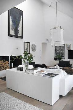 BESTÅ Storage combination with doors - IKEA, modern interior, white, nice…