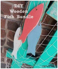 DIY Wooden Fish Bundle - Craft