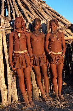 Himba girls. See namibiatravel.com