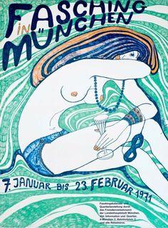 Fasching-In-Munchen    #fashionshows #posters #art