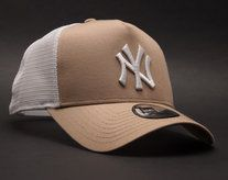 Koupit Kšiltovka New Era Essential New York Yankees 9FORTY TRUCKER Camel White  Snapback New York 1f3f5acda23