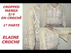 SAIA CIGANA ELAINE CROCHÊ - YouTube