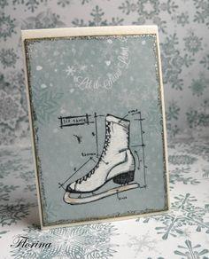Christmas cards Tim Holtz - Cartes en scrapbooking
