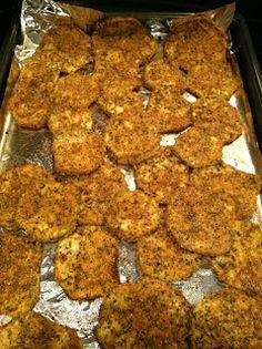 "The Test Kitchen of Melissa Fallis: Healthy""ish"" Eggplant Parmesan Bake"