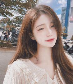 Pretty Korean Girls, Korean Beauty Girls, Cute Korean Girl, Asian Beauty, Beautiful Chinese Girl, Ulzzang Korean Girl, Uzzlang Girl, Simple Girl, Asia Girl