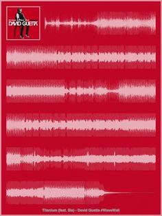 David Guetta - Sia - Titanium : iPad Poster #WaveWall (http://itunes.apple.com/app/wavewall/id595786336?mt=8)