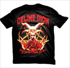 #Heavymetal T-shirts for inoffensive #popstars   Dangerous Minds