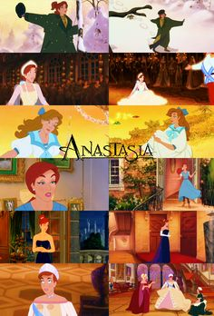 Dancing bears, painted wingsThings I almost rememberAnd a song someone singsOnce upon a December. Look I know this movie isn't Disney. Anastasia Cartoon, Disney Anastasia, Anastasia Movie, Anastasia Musical, Disney Art, Disney Movies, Punk Disney, Disney Characters, Disney Animation