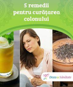 5 remedii pentru curățarea #colonului  În afară de a încerca următoarele 5 remedii naturiste #pentru curățarea colonului, #adoptă o dietă sănătoasă și echilibrată, astfel încât să optimizezi #eliminarea deșeurilor. Cellulite, Alter, Good To Know, Health And Beauty, Cantaloupe, Remedies, Food And Drink, Fruit, Drinks