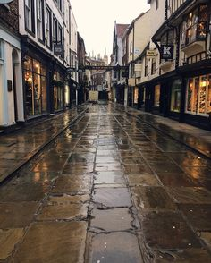 Stonegate, York, so named after the route the stones were taken to build York minster.