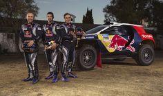 Meet the beast carrying Carlos Sainz and Cyril Despres through the harsh terrain of the Dakar Rally. Peugeot 2008, Ford Focus, Toyota Celica, Subaru, Rally Dakar, Volkswagen, Rallye Raid, Rally Drivers, Off Road Racing