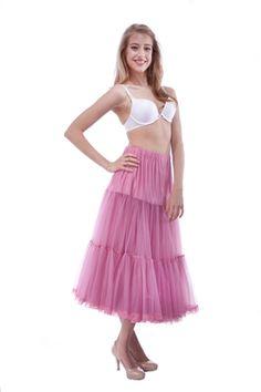 Malco Modes Tea-Length Chiffon Crinoline Petticoat Underskirt Full Slip w/ Lace. Petticoat Junction, Prairie Skirt, Ladies Day, Tea Length, Costume Design, Lace Trim, Chiffon, Ballet Skirt, Two Piece Skirt Set