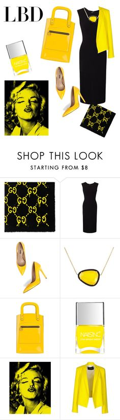 """""""Untitled #29"""" by starfallen82 on Polyvore featuring Gucci, Roland Mouret, Christina Debs, Jeremy Scott, Nails Inc. and Tara Jarmon"""