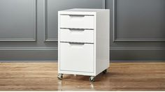 TPS white 3-drawer filing cabinet - $159 (less 15% is $135.15) - 2 for each desk storage
