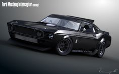 69 Mustang Interceptor