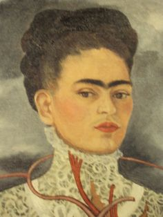 Detail of Los Dos Fridas