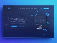 UI Design: Look Back at 12 Top Interface Design Trends in 2018 Cool Web Design, Web Ui Design, Dashboard Design, Graphic Design, Flat Design, Design Trends, Design Ideas, Web Layout, Layout Design