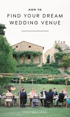 How to Find Your Dream Wedding Venue for your perfect wedding! #weddingreception #weddingvenueideas #weddingplanningtips  #oncewed