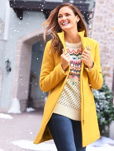 'Tis the season to get in the spirit, and our latest collection spreads holiday cheer! We're celebrating the moments that molded our traditions with a nod to the clothing we wore when they happened! | Talbots