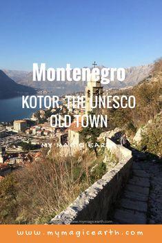 Kotor, an UNESCO old town is the top destination in Montenegro. #montenegro #europe #mountain #destination #adventure #capital #city #adventuretime #traveltips #travelblog #places #travellife #unesco #kotor