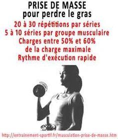 comment grossir et prendre du muscle pour perdre du gras