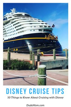 Planning to set sail on a Disney cruise? Check out these tried and true Disney cruise tips to help you have a most magical adventure on the high seas! Cruise Travel, Cruise Vacation, Disney Vacations, Disney Trips, Disney Travel, Walt Disney, Disney Cruise Tips, Best Cruise, Family Vacation Destinations