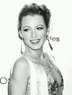 Blake Lively- she's not even perfect or anything