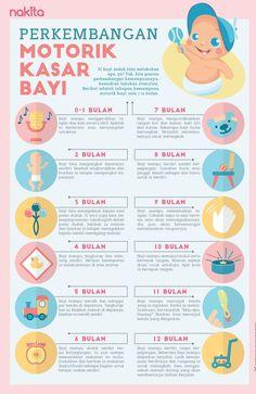 Cek yuk perkembangan motorik kasar bayi (0-12 bulan)!