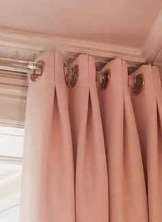 sophisticated drapery panels, box pleated with gro . sophisticated drapery panels, box pleated with large … – No Sew Curtains, Home Curtains, Curtains Living, Grommet Curtains, Curtains With Blinds, Burlap Curtains, Mini Blinds, Wood Blinds, Velvet Curtains