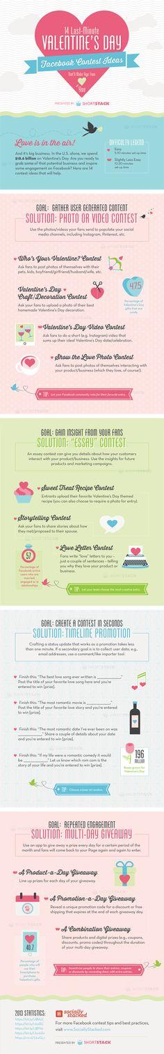 Contenidos de San Valentín para FaceBook