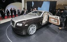 Rolls-Royce Wraith First Look Photo Gallery
