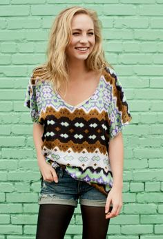 Candice Accola's casual outfit. I want<3