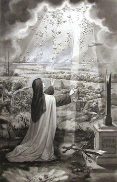 Blog do Nahor Lopes: Intervenções de Santa Teresinha do Menino Jesus na Primeira Guerra Mundial