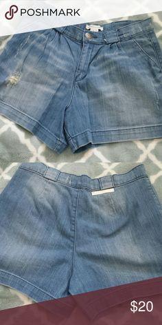 High waisted shorts size 28 BBCGENERATION distressed jeans size 28 BCBGeneration Shorts Jean Shorts