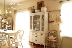 Perhaps I could rip out the desk area in my kitchen and replace with a china cabinet?