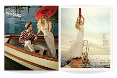 ★ DESIGN ARMY – Washingtonian Bride & Groom: The Love Boat (Editorial Design and Art Direction) © Design Army LLC
