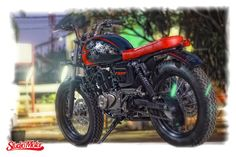 pulsar 220 cafe racer   Google Search   Cafe Racers   Pinterest Bajaj Pulsar 220 Brat Style by Studio Motor  motorcycles  bratstyle  motos    caferacerpasion