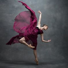 Something magical...Cassandra Trenary, Soloist, American Ballet Theatre, photo by Ken Browar and Deborah Ory, NYC Dance Project,