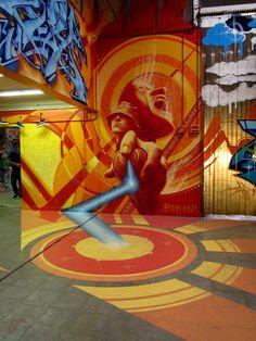 By HEST ONE Expo Face au Mur Paris