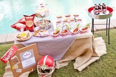 birthday parti, tailgating party, football tailgate, footbal parti, tailgat parti, football parties, football season, parti idea, tailgate parties